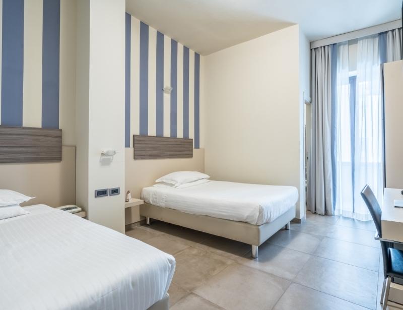 Camera doppia dell'Hotel Palace a Battipaglia