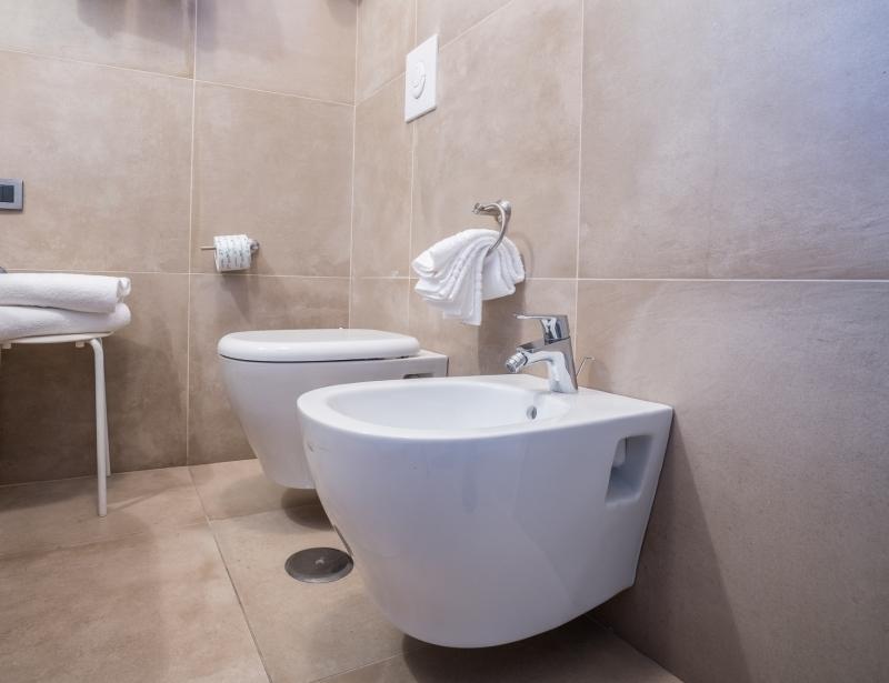 Bathroom - Standard Room - Hotel Palace Battipaglia