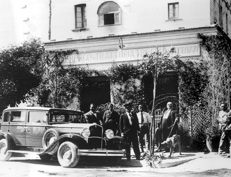 An old picture of the restaurant | Hotel Palace