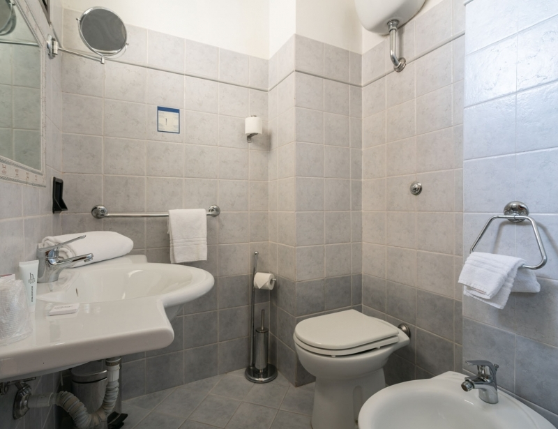 Bagno Camera Standard | Camere Hotel Palace